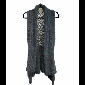 ESCIO Faux Fuzzy Vest